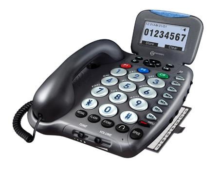 Digital Amplified Telephone with Answering Machine, Talking Called ID & Talking Keys SAampli555