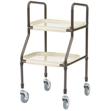 handy two tray trolley drkst001