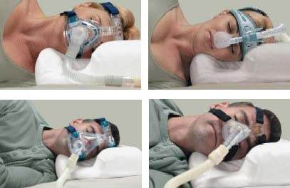 CPAP Multi Mask Sleep Pillow INV1730