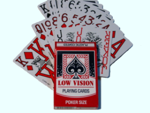 Low Vision Playing Cards HA93911