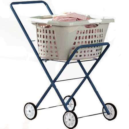 Folding Rolling Laundry Cart Elderstore Com