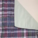 Plaid Quilted Bed Pad BPS700