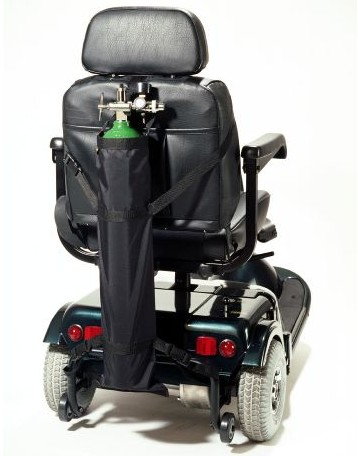 EZ Scooter Oxygen Tank Holder  sc 1 st  elderstore.com & EZ Wheelchair Oxygen CarryOn - elderstore.com