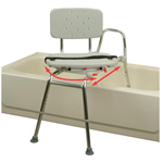 Swiveling Sliding Transfer Bath Bench EH37662