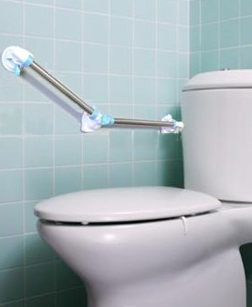 Quick Angle System Angled Suction Grab Rails Gale With Bathroom