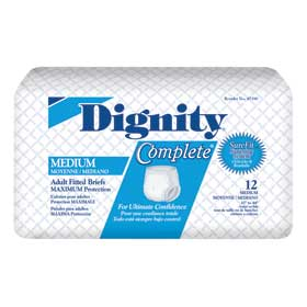 Dignity Complete Adult Fitted Briefs   HI453