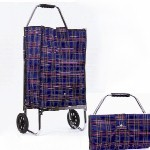 Tartan Plaid Folding Cart INC8500