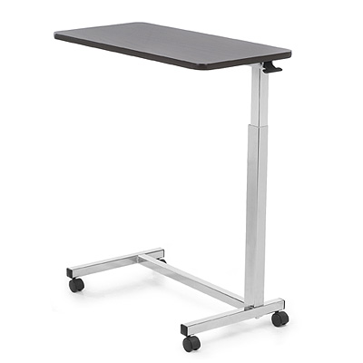 Auto Touch Overbed Hospital Bed Table Elderstore Com
