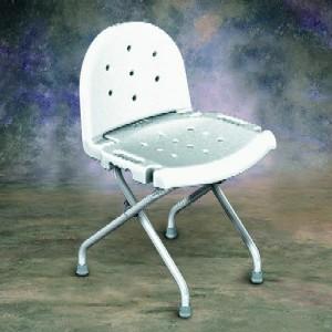 Folding Shower Chair With Backrest Elderstore Com