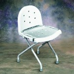 Folding Shower Chair with Backrest INV9981