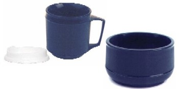 Weighted Insulated Bowl & Cup Set KE16040