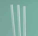 Rigid Clear Plastic Reusable Straw (3 pack) MA74567