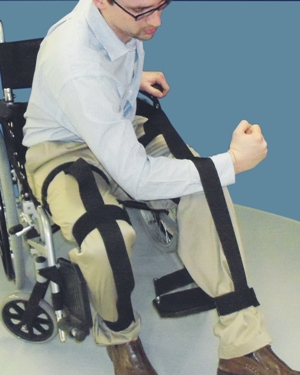 Leg Wrap Positioning Aid for Paralysis MA70418