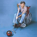 Wheelchair Bowling Ball Pusher MA71205-0001