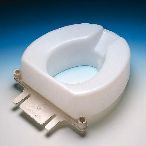 Contoured Raised Toilet Seat Elderstore Com