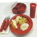 Redware Dinnerware Set  Deluxe MA74538A