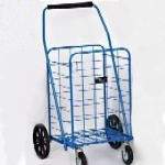 Hefty Swiveler Folding Shopping Cart NT116