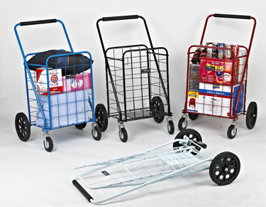 1168990 further Showthread in addition 4 Wheel Super Deluxe Swiveler Shopping Cart Black furthermore 251191331729 as well Folding Shopping Cart Double Basket Liner Options Red Blue Black Jumbo. on big bruno folding shopping cart