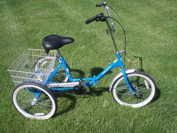Fold And Go Three Wheel Bike Trb11fg