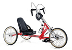 Handy Hand Powered Low Seat Trike WM3002HLS7